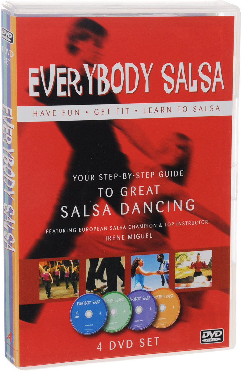 цена Everybody Salsa (4 DVD) онлайн в 2017 году