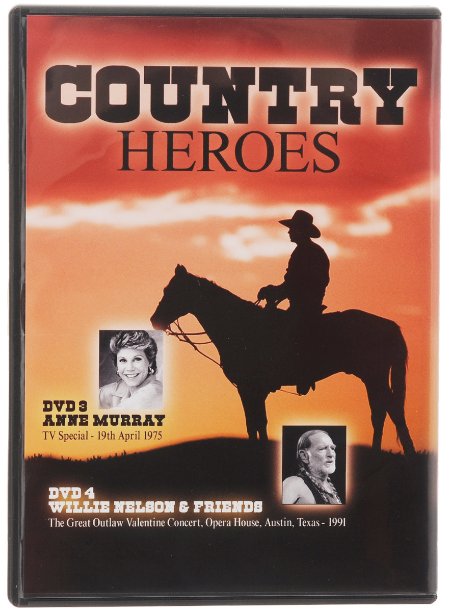Country Heroes (4 DVD) ZYX Music