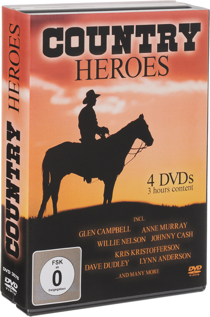 Country Heroes (4 DVD) heroes