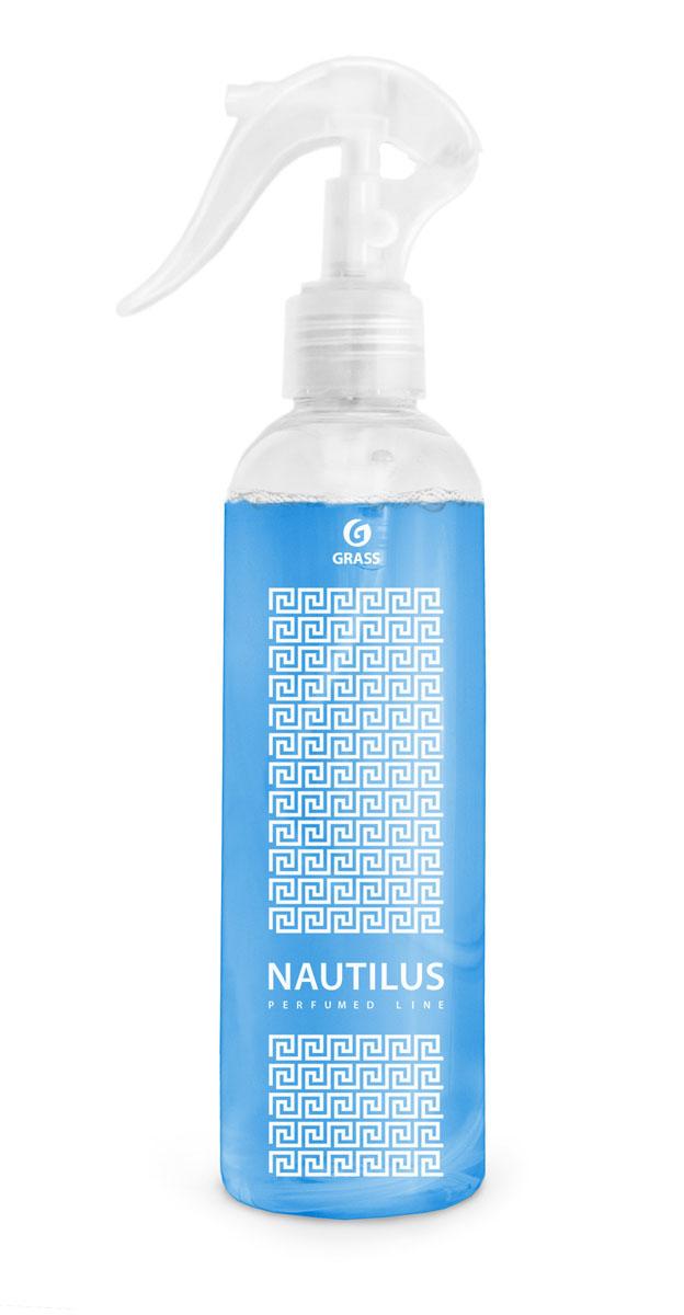Жидкое ароматизирующее средство Grass Nautilus, 250 мл800016Жидкое ароматизирующее средство Grass Nautilus - это эксклюзивный ароматизатор с уникальным запахом премиального парфюма. Эффективно устраняет неприятные запахи и освежает воздух. Тщательно отобранные ингредиенты, входящие в состав ароматизатора, и экономичный распылитель позволяют наслаждаться ароматом длительное время. Подходит для ароматизации воздуха в помещениях различного типа и в автомобиле. Не оставляет следов на обивке, ткани, мебели, обоях.Товар сертифицирован.