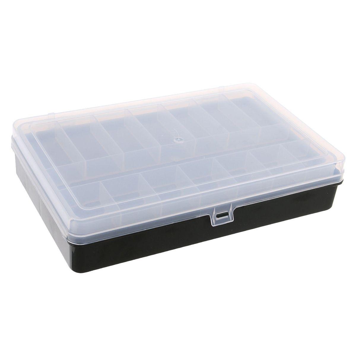 Коробка для крючков и насадок Тривол, двухъярусная, цвет: зеленый, 24х15х5 см1271656Коробка для крючков Тривол поможет сделать процесс подготовки к самой рыбной ловле максимально удобным. Коробка выполнена из пластика. Она идеально подойдет в любое время года, для любого типа рыбалки и поможет вовремя отыскать среди всех снастей именно те, которые необходимы на данный момент. Имеет 22 отделения на 2 ярусах.