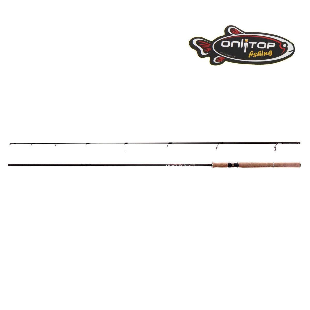 Спиннинг штекерный Onlitop Practical, 2,4 м, 5-20 г коньки onlitop abec 5 35 38 brown 869408
