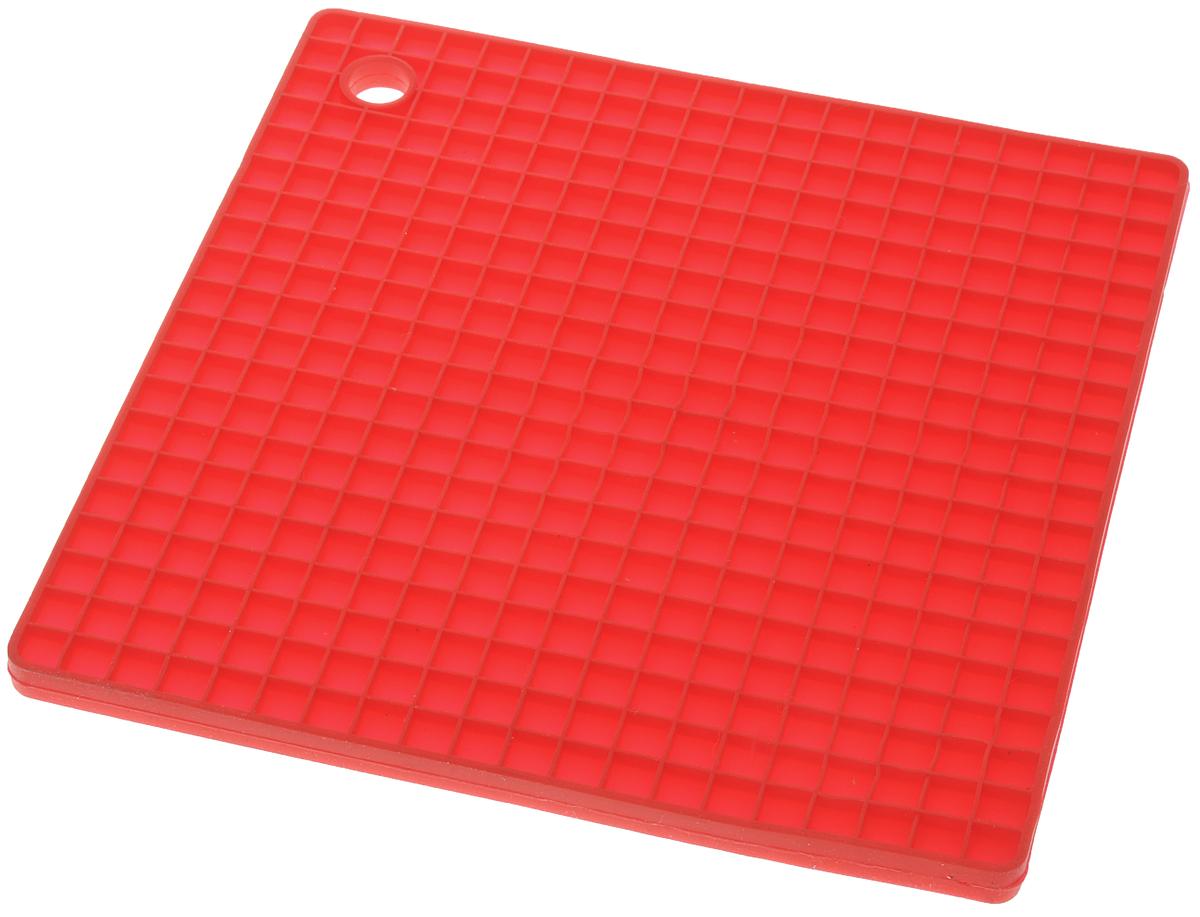 Прихватка-подставка под горячее Nadoba Dobrava, силиконовая, цвет: красный, 17,5 х 17,5 см752013Подставка-прихватка под горячее Nadoba Dobravaизготовлена из силиконав форме квадрата. Прихватку-подставку можноиспользовать с любойпосудой. Она защитит руки от ожогов, а мебель идругие кухонные поверхности отцарапин, механических повреждений, воздействиявысоких температур.Изделия из силикона выдерживают высокуютемпературу до + 240°С. Изделие легко моется, негорит и не тлеет, не впитываетзапахи, не оставляет пятен. Силикон абсолютнобезвреден для здоровья. Прихватка-подставка Nadoba Dobrava - отличныйподарок, необходимый любой хозяйке.Размер: 17,5 х 17,5 см.Высота: 0,7 см.