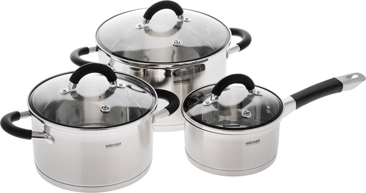 Набор посуды Nadoba Olina, 6 предметов набор посуды nadoba olina 6 предметов
