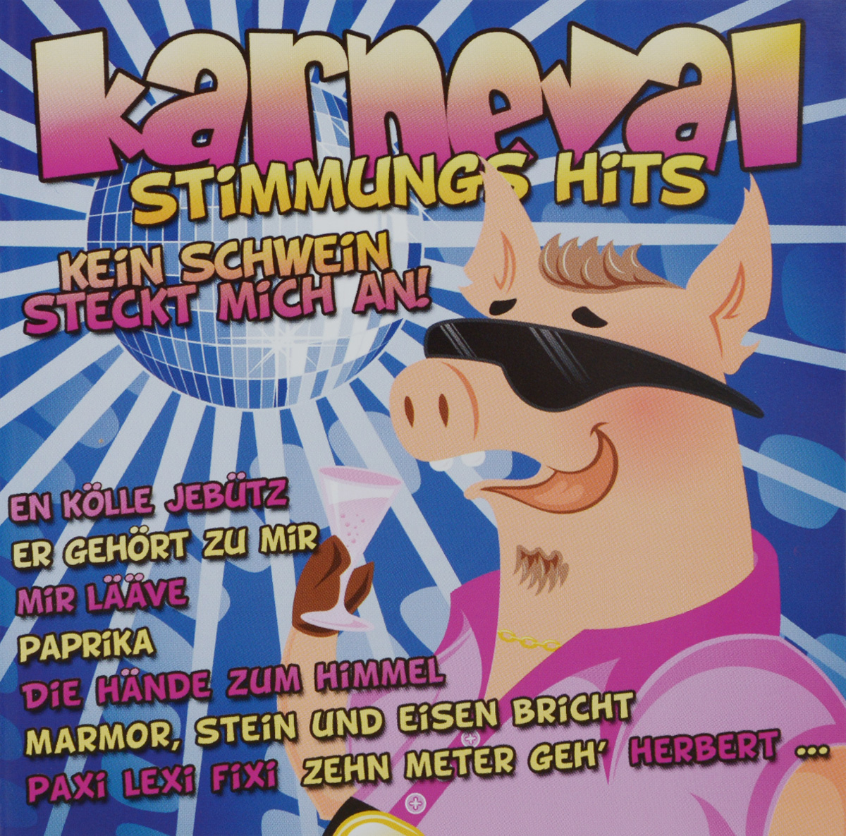 Karneval Stimmungs Hits (2 CD) массимо фарао piano world hits 2 cd