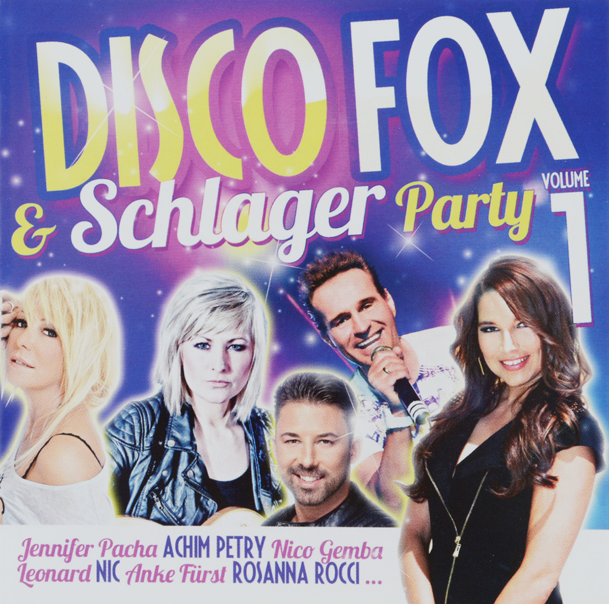 Andy Andress Disco Fox & Schlager Party Volume 1 (2 CD) shanties volume 2 2 cd