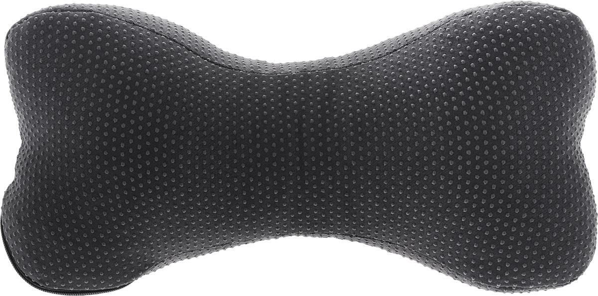 Подушка автомобильная Smart Textile Автомобильная люкс, на подголовник, наполнитель: лузга гречихи, 30 х 15 смT101Автомобильная подушка под шею Smart Textile Автомобильная люкс - находка для тех, кто любит путешествовать. Она предназначена для профилактики остеохондроза, снятия напряжения в мышцах шеи и плечевого пояса, снижения мышечных и суставных болей, а также служит для профилактики защемления нервов и смещения шейных позвонков. Подушка заполнена лепестками гречишной лузги, которая обладает множеством полезных качеств, которые особенно актуальны для автолюбителей:- Хорошо проветривается.- Предупреждает потение.- Поддерживает комфортную температуру.- Обминается по форме тела.- Обеспечивает микромассаж.- Улучшает кровообращение.- Исключает затечные явления.Такую подушку можно применять даже для офиса. Для этого всего лишь удлините крепления и используйте ее под спину. Чехол подушки выполнен из смесовой ткани с ПВХ покрытием.Рекомендации по уходу:Стирка, отбеливание и глажка утюгом запрещены.Рекомендуется обычная химчистка, а также сушка на горизонтальной плоскости в тени.