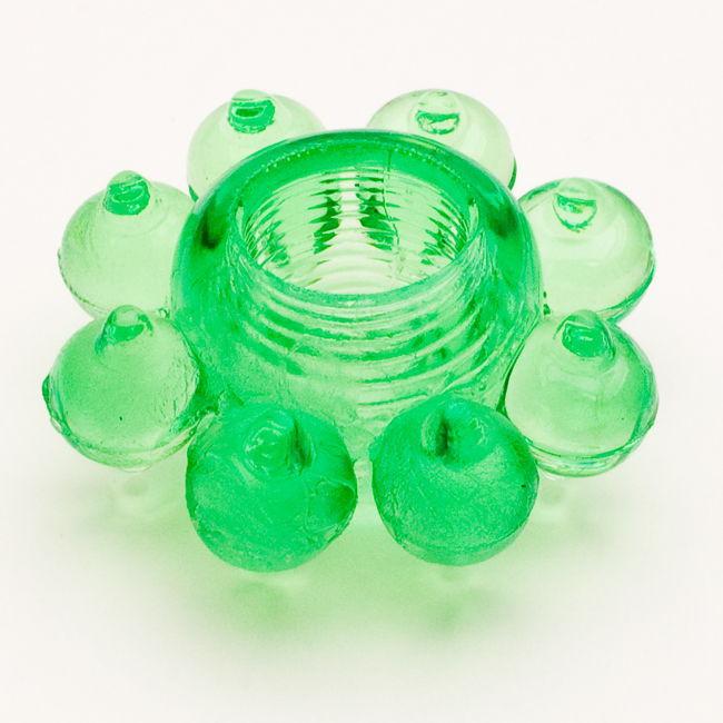 TOYFAЭрекционное кольцо, цвет:  зеленый.  818001-7 Toyfa