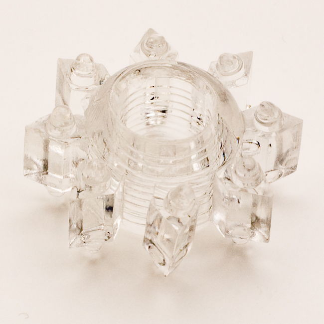 TOYFAЭрекционное кольцо, цвет:  прозрачный.  818002-1 Toyfa