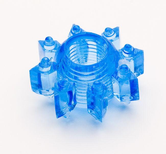 TOYFAЭрекционное кольцо, цвет:  синий.  818002-6 Toyfa