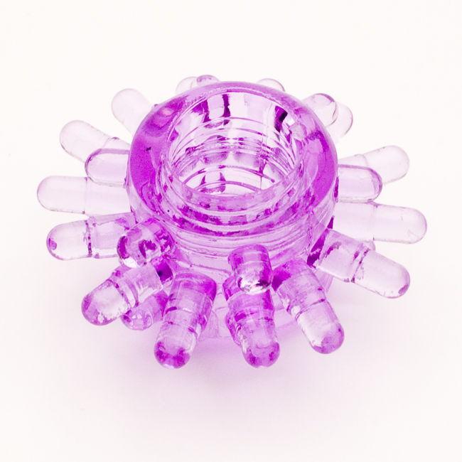 TOYFAЭрекционное кольцо, цвет:  фиолетовый.  818003-4 Toyfa