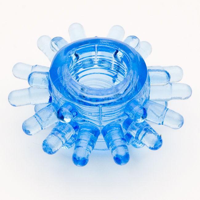 TOYFAЭрекционное кольцо, цвет:  синий.  818003-6 Toyfa