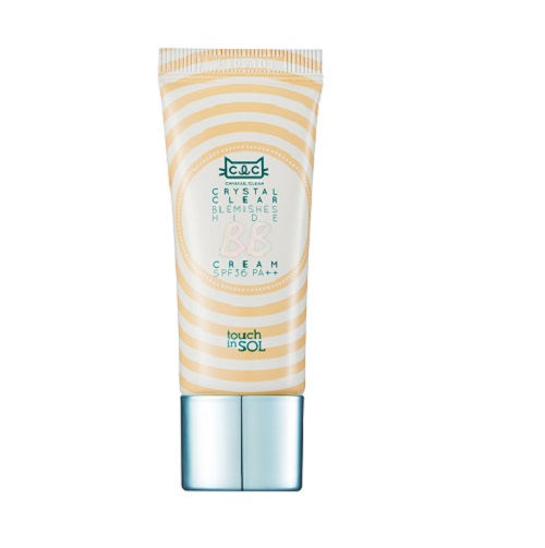 Touch in SOL BB крем Crystal Clear, SPF 36PA, цвет: бежевый, 20 мл bb крем