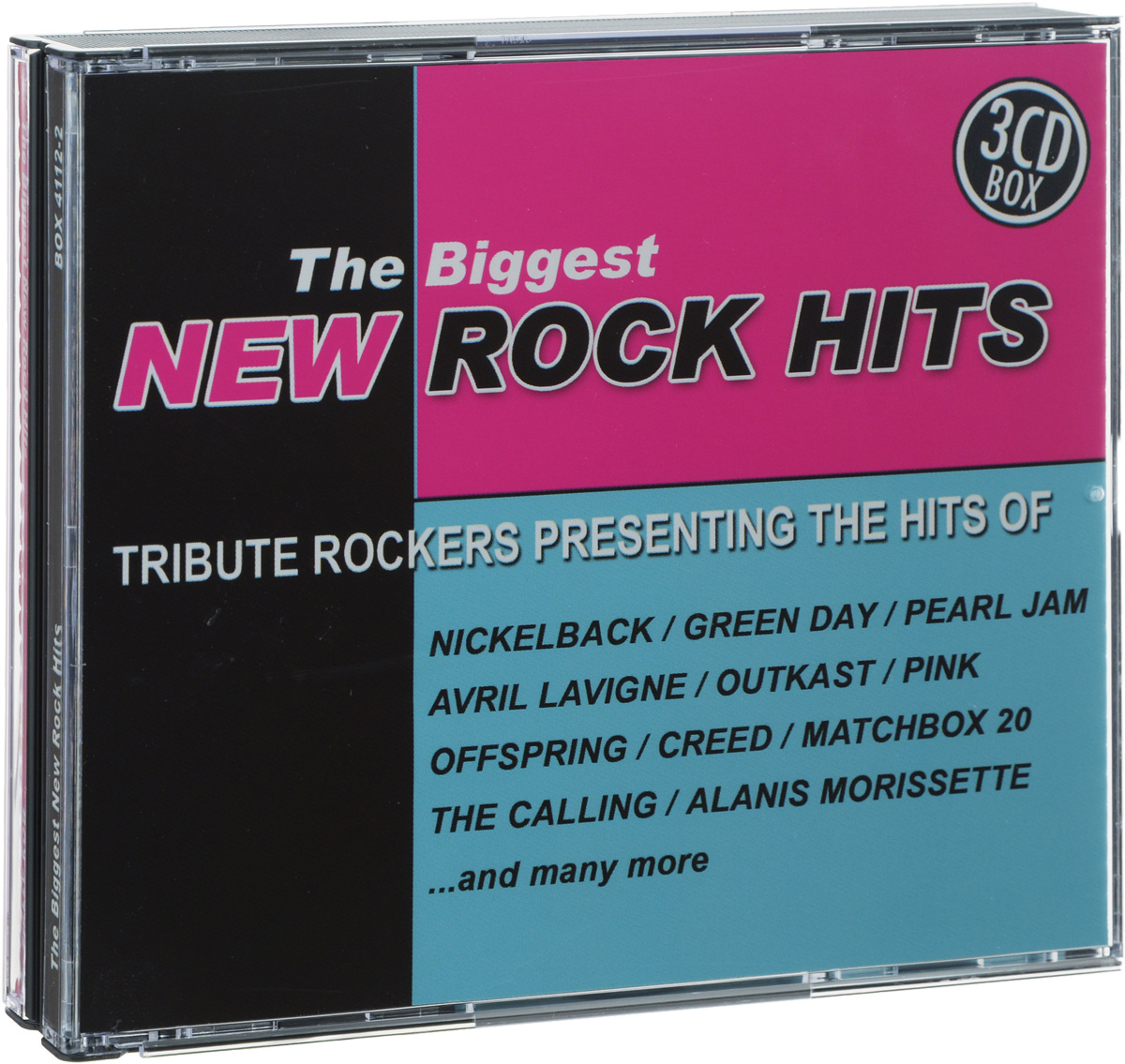 The Biggest New Rock Hits (3 CD) the biggest musical hits ever frankfurt am main
