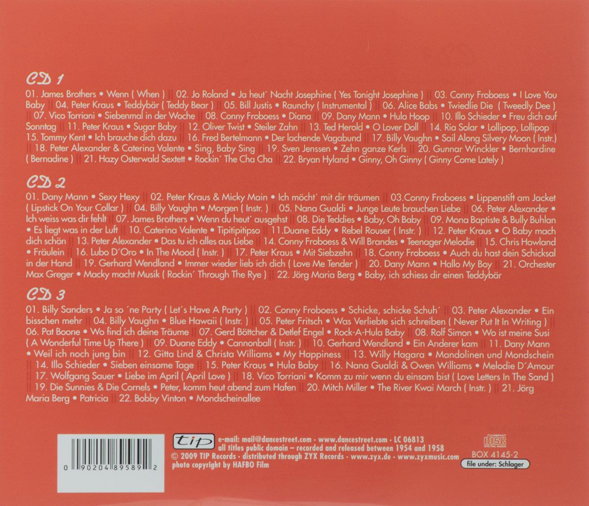 Die Deutschen Teenager-Hits Der 50er Jahre (3 CD) ZYX Music