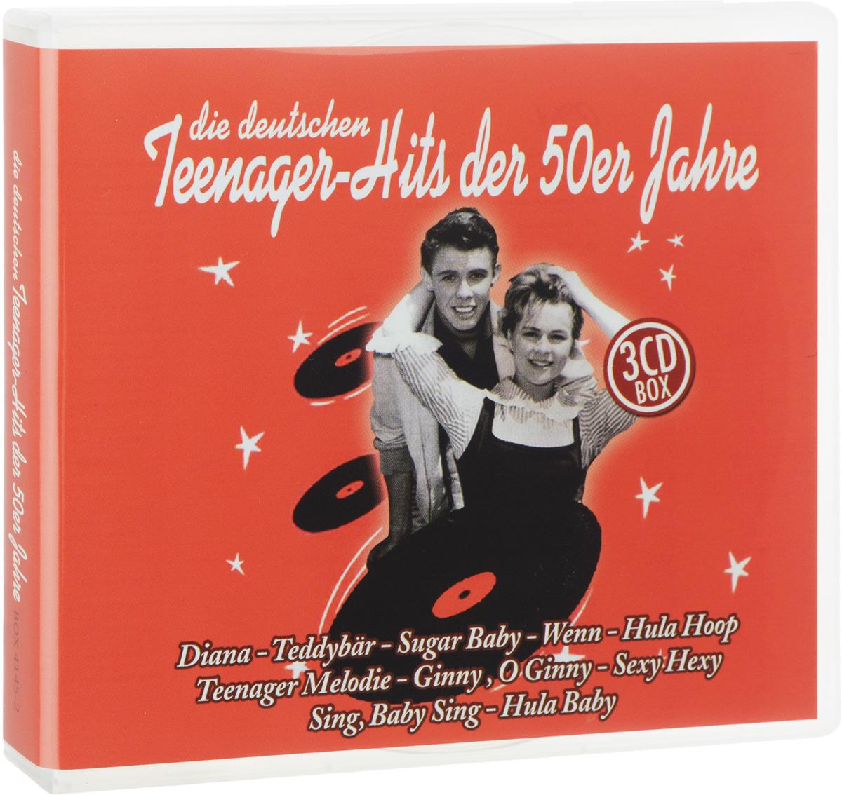 Die Deutschen Teenager-Hits Der 50er Jahre (3 CD) ботинки der spur der spur de034amwiz42