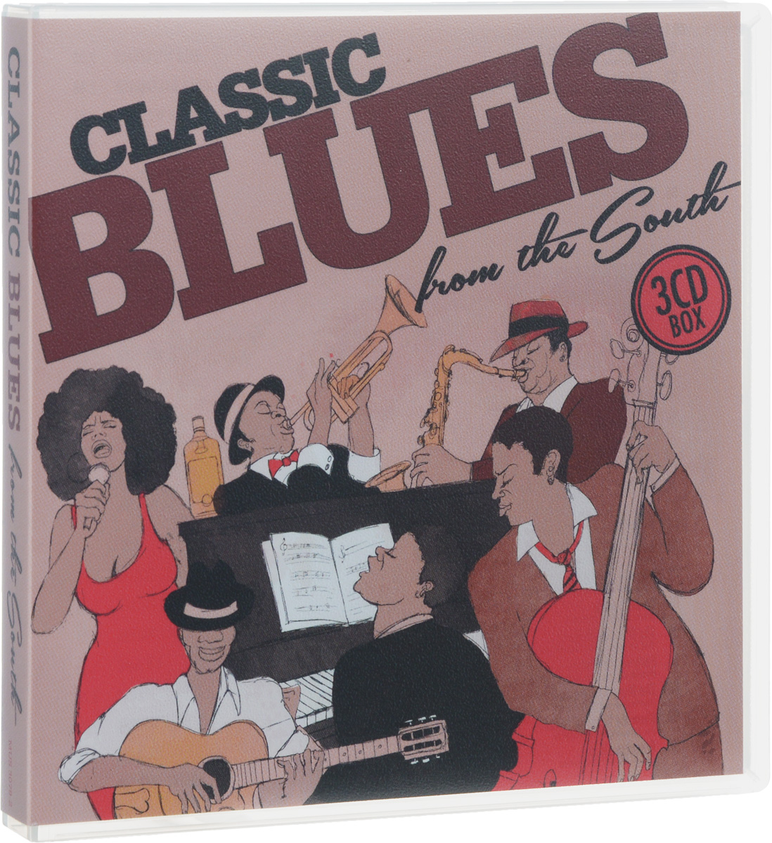 Classic Blues From The South (3 CD) сборник ladies sing the blues 3 cd
