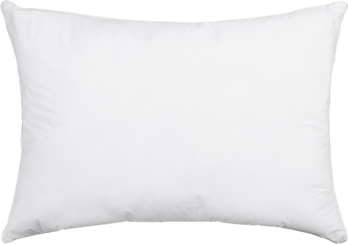 Подушка Smart Textile Эко-сон, наполнитель: искусственный лебяжий пух, 48 х 68 смDF09Подушка Smart Textile Эко-сон подарит вам незабываемое чувство комфорта и умиротворения. Чехол выполнен из ткани тенсель, имеет окантовку и застежку-молнию. Тенсель - это ткань натурального происхождения, которая выполнена из древесного австралийского эвкалипта. Верхний слой 100% Tentel, который покрыт дышащей, водоотталкивающей, полиуретановой оболочкой. Наполнителем в такой подушке является искусственный лебяжий пух.Подушка обладает антибактериальной активностью к культурам St.aureus (Золотистый стафилококк) и Kl.pneumonia (Клебсиелла пневмония).Аллергия - это довольно неприятное явление для человека, обладающего повышенной чувствительностью к какому-либо компоненту окружающей его среды. Одним из самых распространенных аллергенов - это пыль, а точнее пылевые клещи, которые и вызывают недомогания. Лечение аллергии - довольно сложный процесс. Поэтому эффективнее всего будет профилактика аллергии. Лучший способ предотвратить возникновение аллергической реакции - это избегать контакта с аллергеном или, по крайней мере, свести эти контакты к минимуму. Ткань непроницаема для клеща, домашней пыли и аллергенов. При этом она сохраняет проницаемость для воздуха и паров воды. Клещ не получает основную его пищу - это мельчайшие частицы нашей кожи, поэтому быстро гибнет. Рекомендации по уходу:Ручная стирка при температуре воды до 60°С.Отбеливание запрещено.Разрешены деликатная барабанная сушка, химчистка и глажка.