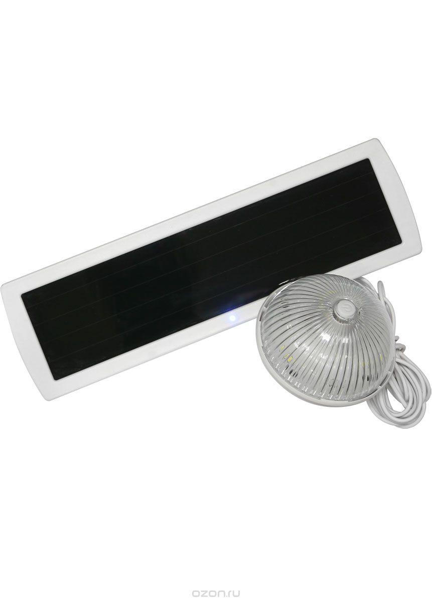 Светильник КОСМОС на солнечных батареях многофункциональный с датчиком освещенности, SMD led, KOC_SOL224KOC_SOL224