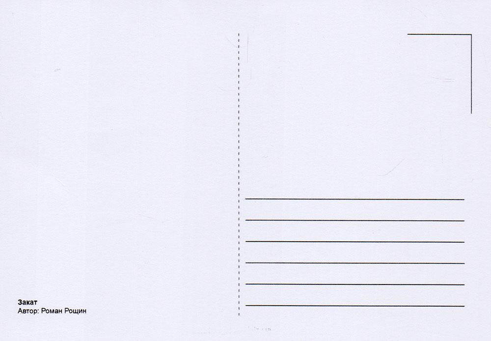 Оборот почтовой открытки вектор