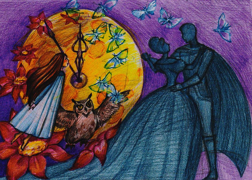Мечта. Открыткаpw0044Дизайнерская открытка.На лицевой стороне находится собирательный образ мечты. Набросок скетч.Автор рисунка - Анастасия Панкова.Размер: 10.5 х 14.7 см.