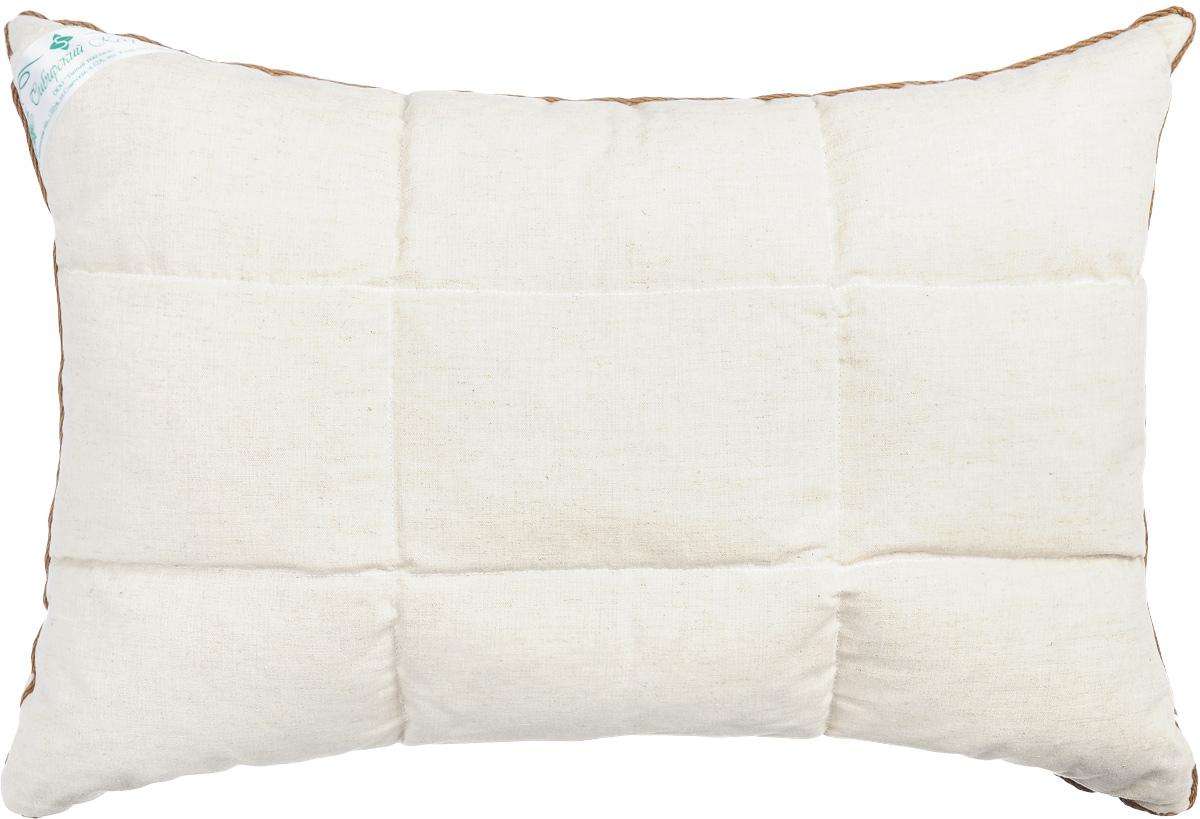 Подушка Smart Textile Уральская, наполнитель: пленка ядра кедрового ореха и искусственный лебяжий пух, 40 х 60 смЕ742Подушка Smart Textile Уральская подарит вам незабываемое чувство комфорта и умиротворения. Чехол выполнен из 100% хлопка, имеет окантовку и застежку-молнию, через которую удобно отсыпать наполнитель, если подушка вам покажется высокой или плотной.Подушка Smart Textile Уральская имеет два наполнителя, которые разделены на две не смешивающиеся секции. В одной секции подушки наполнитель из пленки ядра ореха сибирского кедра, а в другой лепестки лузги гречихи. Одна сторона подушки простегана. Кедровый аромат благотворно влияет на органы дыхания и обладает антибактериальными свойствами, благодаря фитонцидам - природным активным веществам в своем составе. Так же позволяет укреплять иммунную систему в целом, повышая сопротивляемость организма к простудным заболеваниям. Кедр славиться тем, что восстанавливает силы и энергетический баланс даже после непродолжительного отдыха на такой подушке, успокаивает нервную систему, помогает побороть бессонницу. Во время сна и отдыха нормализуется кровяное давление, снимаются головные боли.Лебяжий пух - это мягкий, воздушный и гипоаллергеный искусственный наполнитель для подушек. В нем не заводятся вредные насекомые, поэтому именно такой наполнитель является оптимальным решением для аллергиков. За таким наполнителем легко ухаживать, даже после многочисленных стирок лебяжий пух не собьется и не потеряет своего объема. Внимание: так как пленка ядра кедрового ореха природный наполнитель, то подушке категорически противопоказана влага, поэтому при уходе стоит учесть, что ее необходимо регулярно просушивать. Так же допускается появление небольших масленых пятен на основном напернике в силу структуры наполнителя.Не рекомендуется ручная и машинная стирка, только химчистка. Сушить горизонтально.Рекомендуемые условия эксплуатации: Температура от 0°С до +25°С, влажность не более 60%.Материал чехла: 100% хлопок.Наполнитель: 50% плен