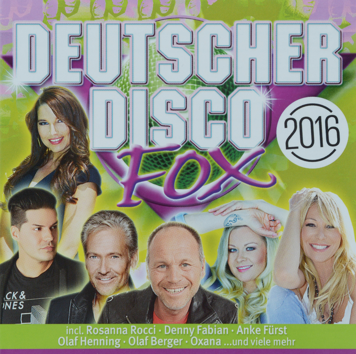 Zakazat.ru Deutscher Disco Fox 2016 (2 CD)