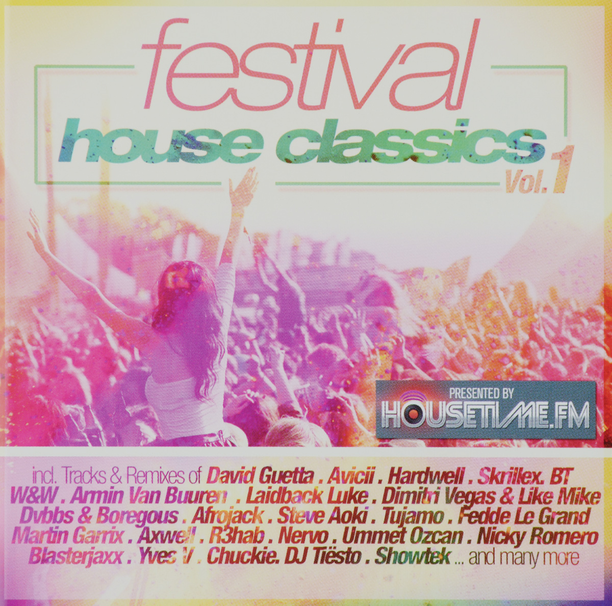 Hardwell Festival House Classics Volume 1 2 CD