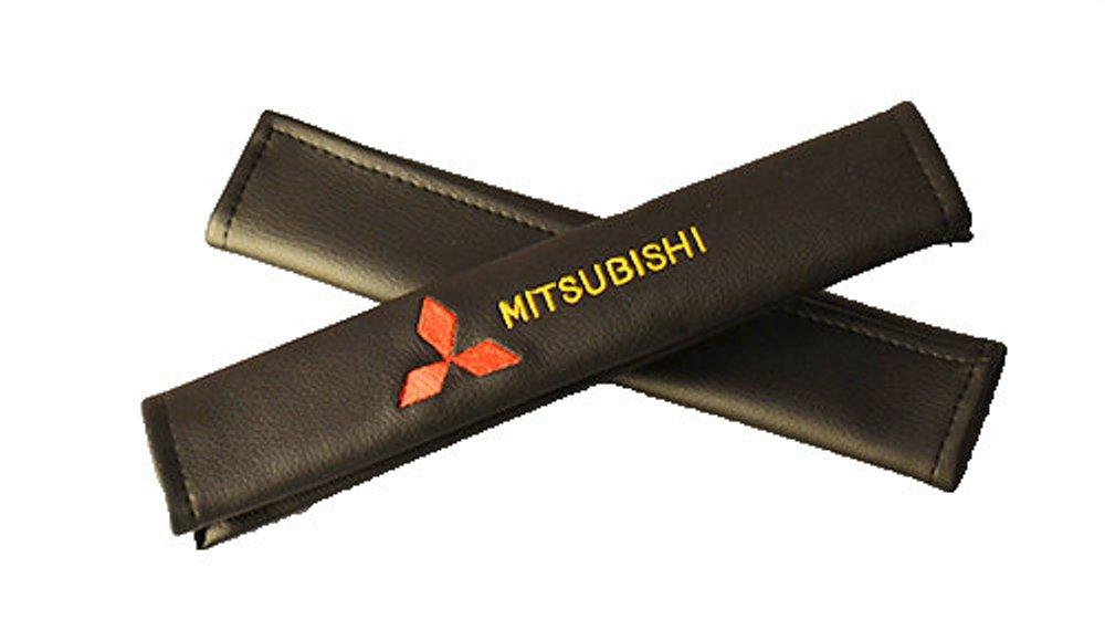 Накладки на ремень безопасности Auto Premium Mitsubishi, 2 шт67008Накладка Auto Premium Mitsubishi легко закрепляется на ремне безопасности и решает ряд назойливых проблем. Ремень больше не натрет плечо, благодаря тому, что изделие выполнено из мягкой экокожи и не мешает движению ремня. Накладка позволит защитить вашу одежду от следов ремня безопасности. В жаркую погоду в местах соприкосновения с ремнем кожа не будет потеть, так как накладка выполнена из дышащего материала.