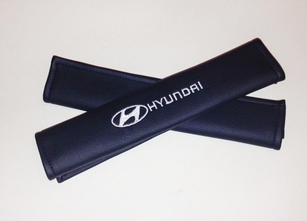 Накладки на ремень безопасности Auto Premium HYUNDAI, 2 шт рюкзаки gulliver накладка на ремень безопасности поли