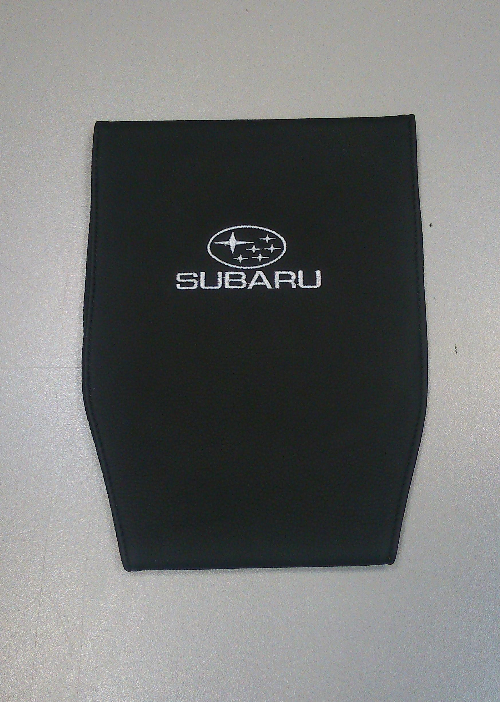 Чехол на подголовник Auto Premium Subaru, 2 шт67124Чехол Auto Premium Subaru - это простая, эффектная и эффективная защита подголовника автомобиля. Накладка легко закрепляется вокруг подголовника и служит надежной защитой от загрязнения. Экокожа это износостойкий и долговечный материал. Такой чехол легко чистится влажной тряпкой.