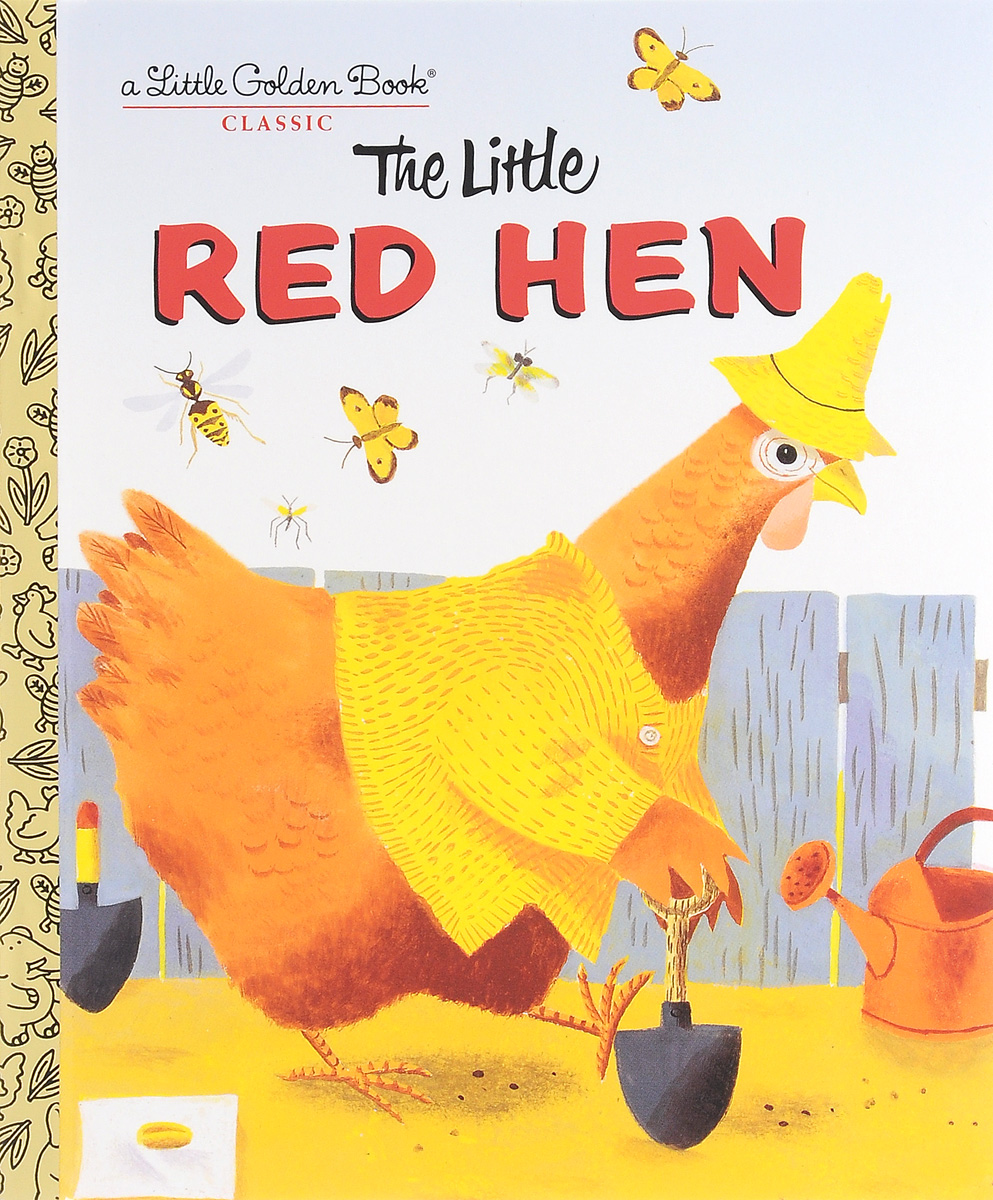 kaili b 7cg red animals The Little Red Hen