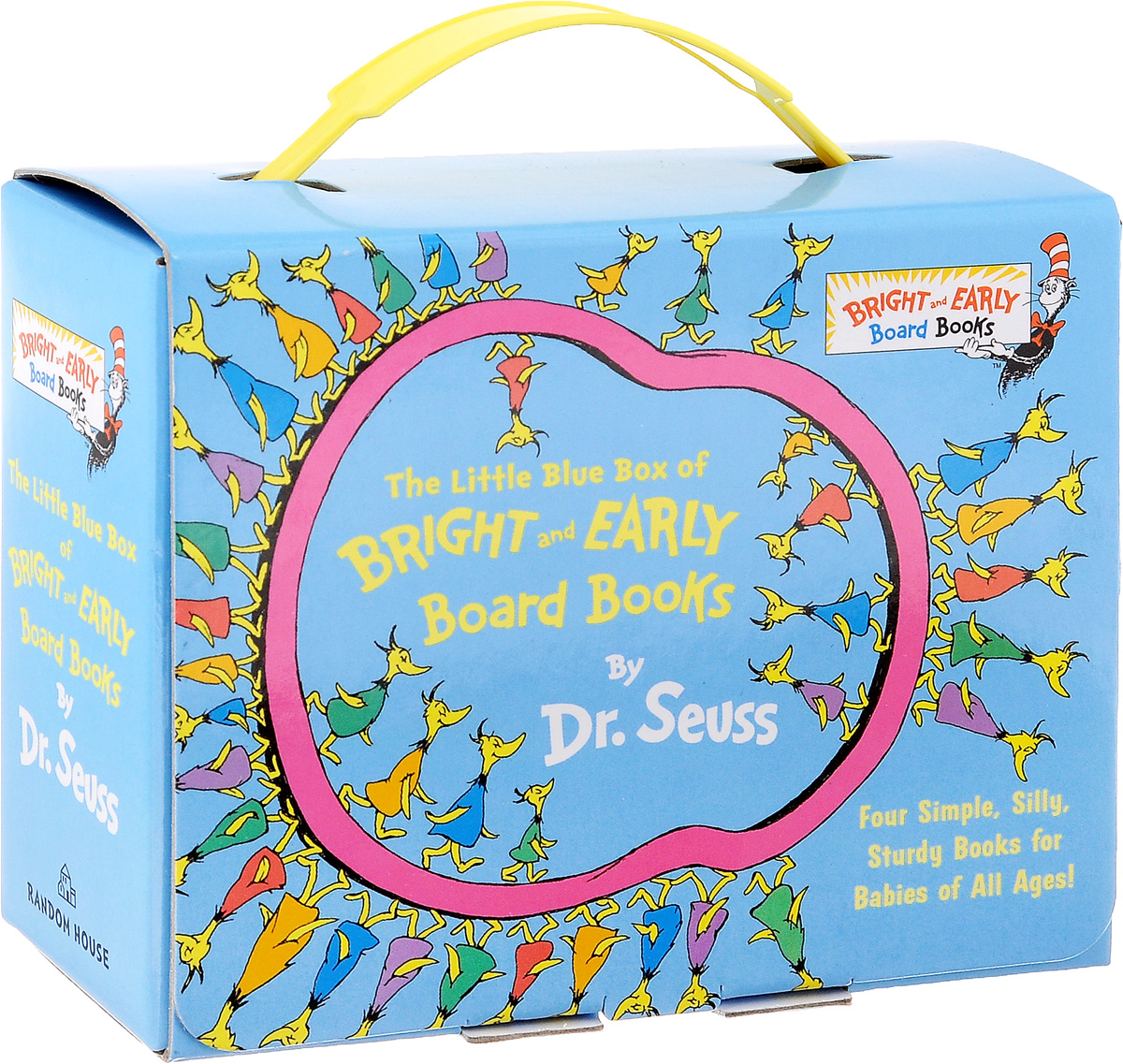 The Little Blue Box of Bright and Early: Board Books all the bright places