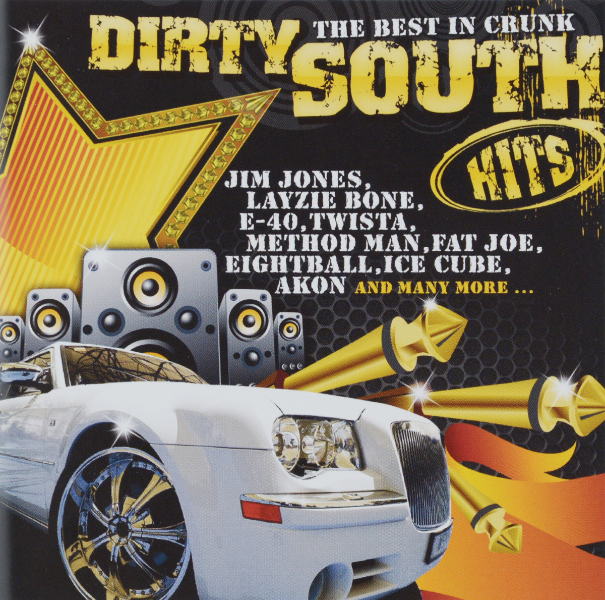 40 Cal Dirty South Hits. The Best In Crunk (2 CD) nr 1 club hits best of dance & techno 2 cd