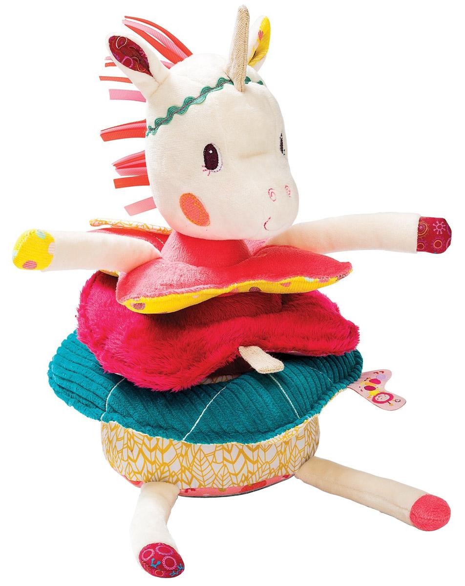 lilliputiens игрушки для малышей Lilliputiens Пирамидка Единорожка Луиза