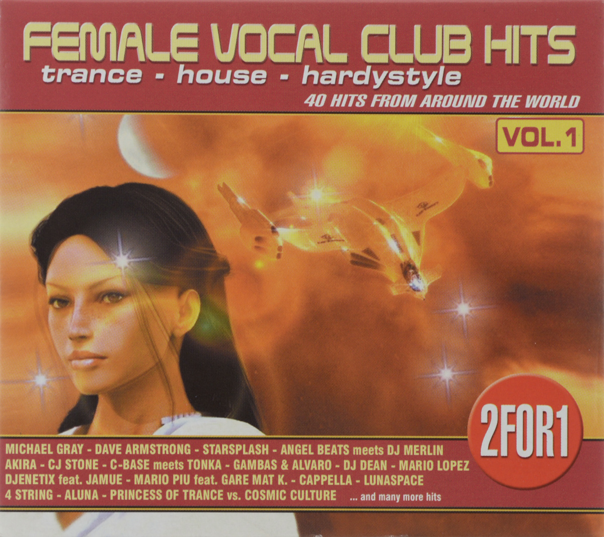 Female Vocal Club-Hits (2 CD) house vocal session hottest club hits vol 1 2cd