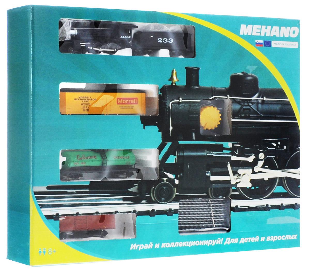 Mehano Железная дорога Hobby с паровозом AT&SF