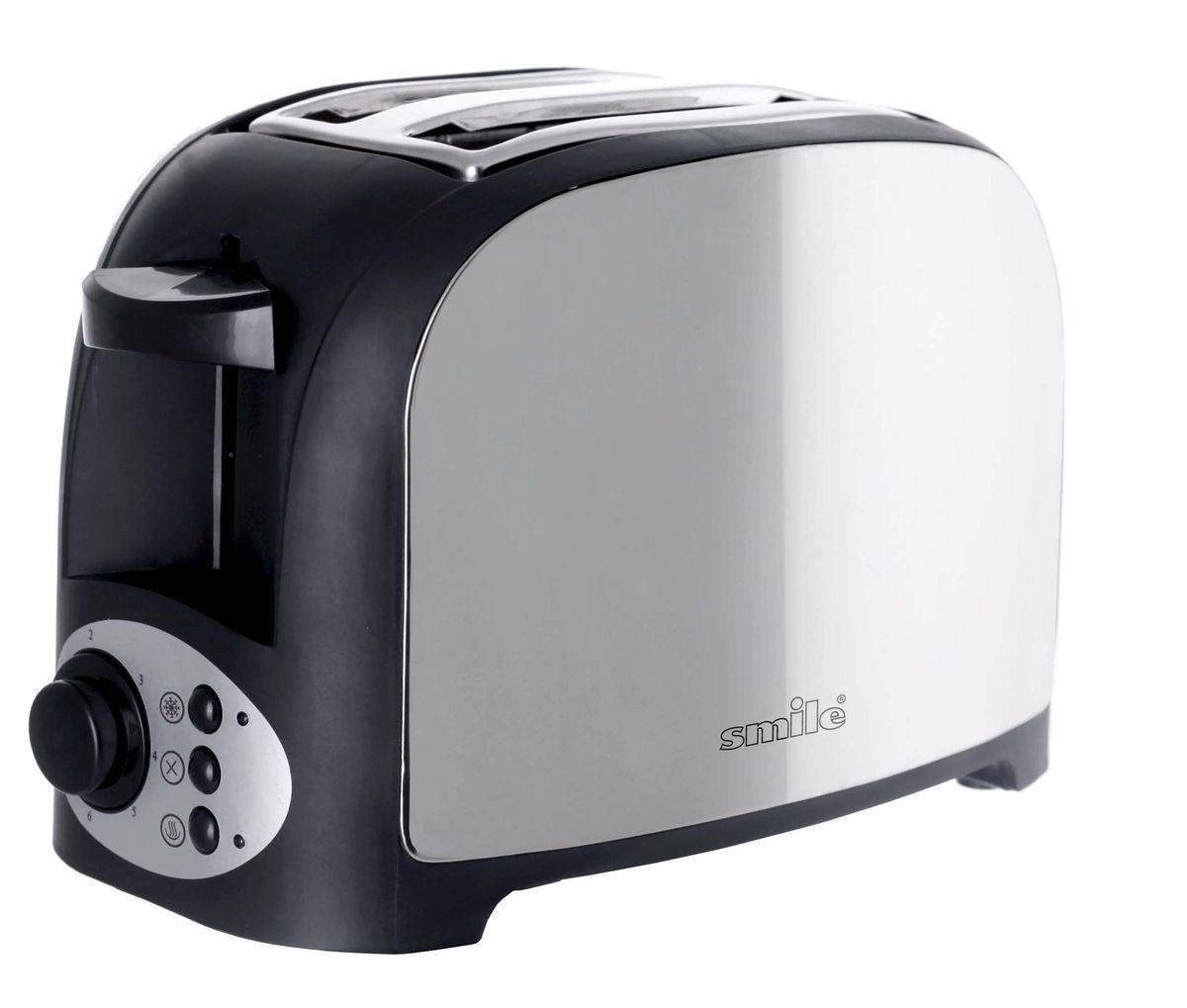 Smile ТА 1841, Black Silver тостер - Тостеры