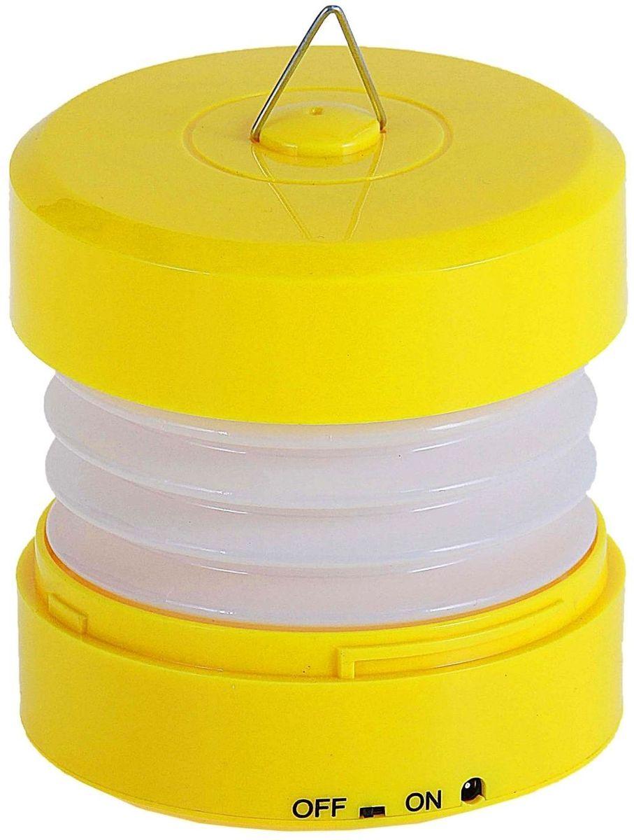 Ночник Пружина желтый147744Светильник детский желтый — то, что нужно и маленьким и взрослым. Удобно брать с собой в дорогу, на дачу, в беседку или на террасу, в поход или туда, где нет возможности подключиться к сети. Он без труда складывается и раскладывается. Этот милый светильник в расправленном виде 20 см, а работает от USB-шнура или от трёх батареек типа АА. Пусть уютный свет успокаивает и мягко освещает пространство.