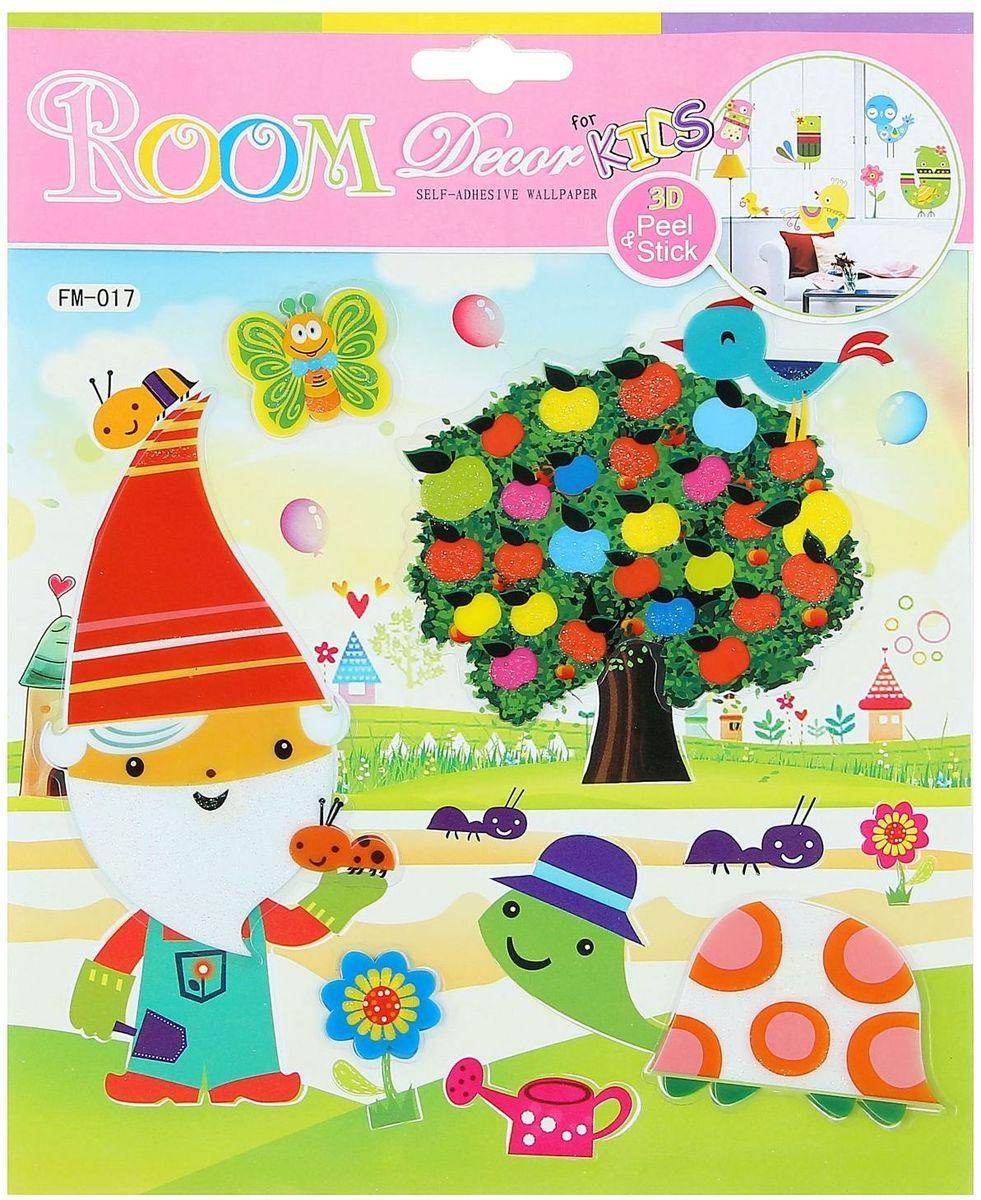 Наклейка пластик Для малышей МИКС 25,5х21 см -  Детская комната