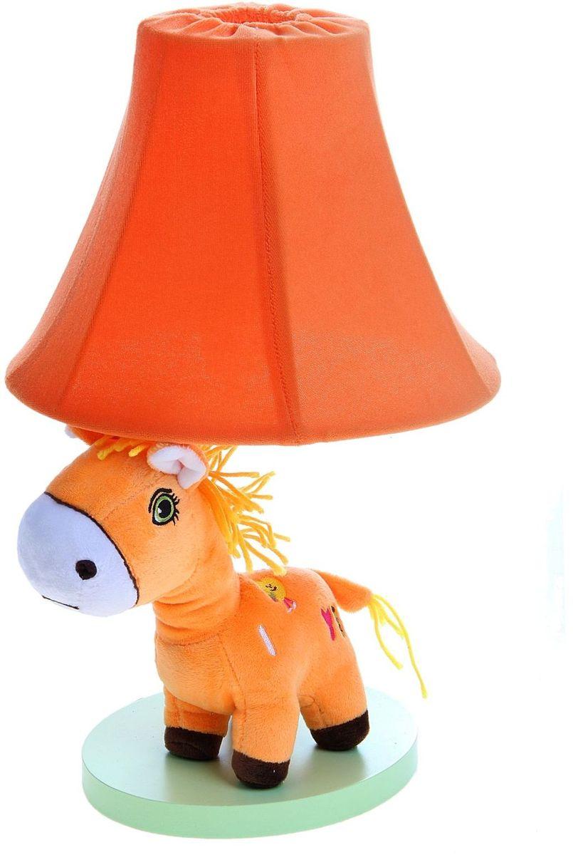 Лампа настольная Плюшевая зебра оранжеая