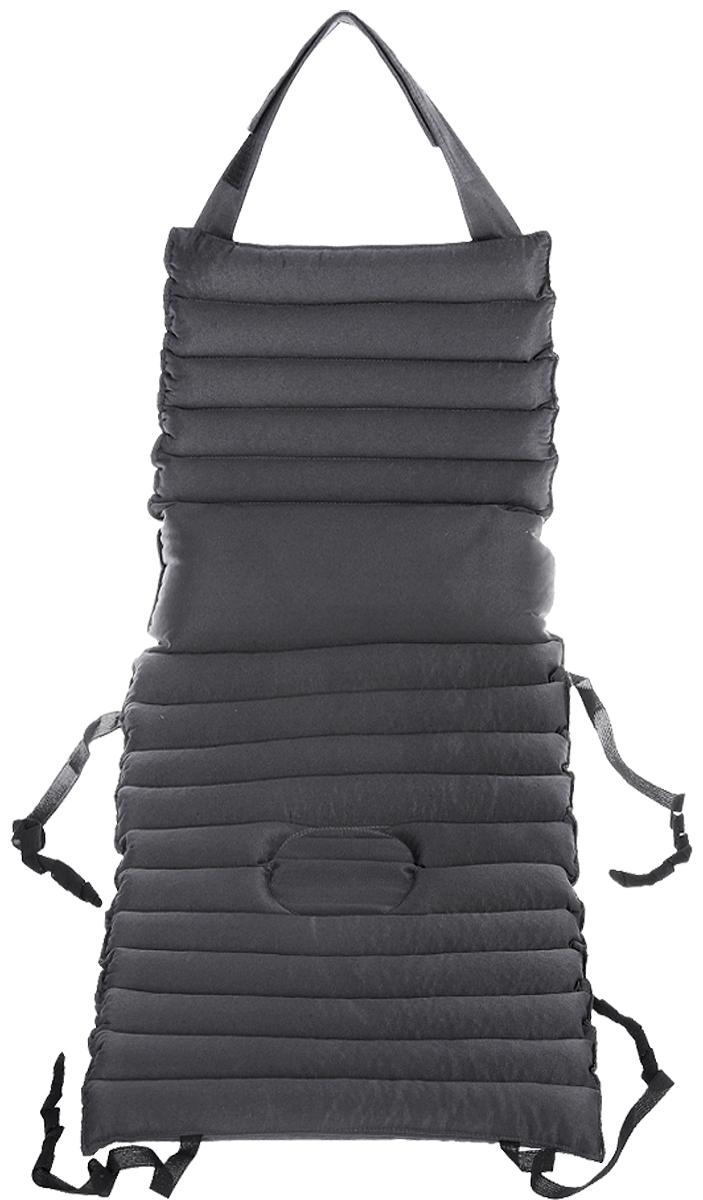 """Накидка на автомобильное кресло Smart Textile """"Гемо-комфорт авто"""", с несъемным валиком, наполнитель: лузга гречихи, 80 х 40 см"""