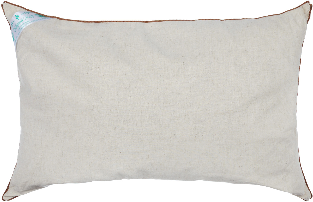 Подушка Smart Textile Кедровая, наполнитель: пленка ядра кедрового ореха, 40 х 60 смЕ442Подушка Smart Textile Кедровая, наполненная пленкой ядра ореха сибирского кедра, перенесет вас в крепкий и здоровый сон, как будто под открытым небом в летнюю ночь.Пленка ядра кедрового ореха - поистине уникальна. Ее традиционно используют в профилактических и лечебных целях. Продукция с данным наполнителем цениться во всем мире. Такие подушки обладают ортопедическим эффектом и нормализует сон, служат профилактикой многих заболеваний (бронхит, астма, туберкулез и т.д.), благодаря содержащимся фитонцитам сибирского кедра, которые сдерживают рост болезнетворных бактерий и уничтожают их, улучшают общее самочувствие и укрепляют иммунитет, помогая вашему организму более эффективно бороться с простудными заболеваниями. Кедровые подушки хороши абсолютно для всех, даже для детей, так как наполнитель абсолютно гипоаллергенный, особенно полезно использовать такие подушки для детских учреждений - садиков, лагерей, интернатов. Сама подушка приятна на ощупь, что сделает ваш отдых более комфортным. Сон на такой подушке восстановит ваш энергетический баланс после тяжелого дня и сделает ваш день более продуктивным. Чехол выполнен из льна, имеет окантовку и застежку-молнию, через которую удобно отсыпать наполнитель, если подушка вам покажется высокой или плотной.