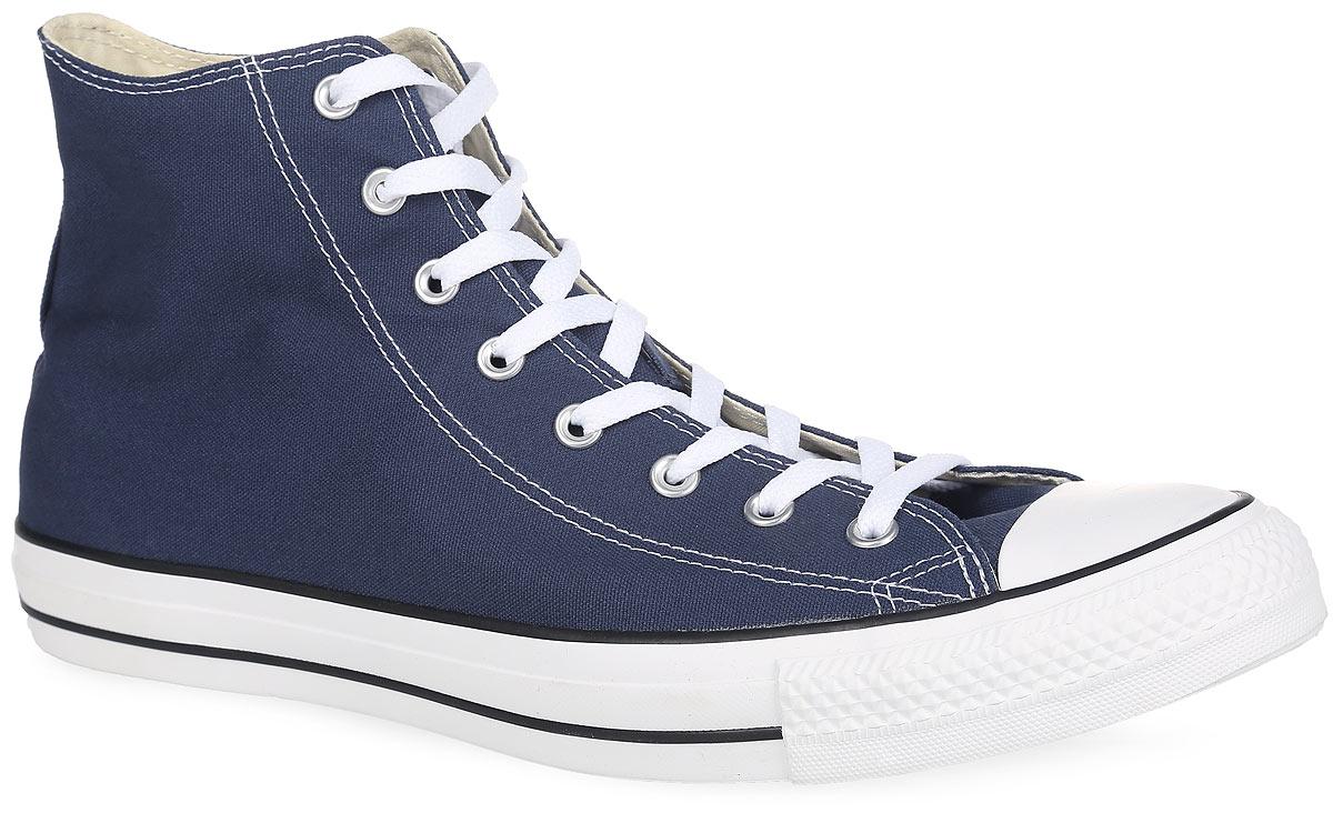 Кеды Converse Chuck Taylor All Star Core Hi, цвет: темно-синий. M9622. Размер 11,5 (46)M9622Высокие кеды Chuck Taylor All Star Core Hi от Converse займут достойное место среди вашей обуви.Модель выполнена из плотного текстиля и оформлена на одной из боковых сторон металлическими люверсами и фирменной термоаппликацией, на подошве - прорезиненной накладкой и контрастными полосками. Мыс изделия дополнен классической для кед прорезиненной вставкой. Классическая шнуровка обеспечивает надежную фиксацию обуви на ноге. Стелька из материала EVA с текстильной поверхностью комфортна при движении. Гибкая резиновая подошва с рифлением гарантирует идеальное сцепление с любыми поверхностями. В таких кедах вашим ногам будет комфортно и уютно.