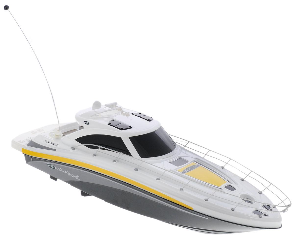 New Bright Катер на радиоуправлении Sea Ray цвет белый черный - Радиоуправляемые игрушки