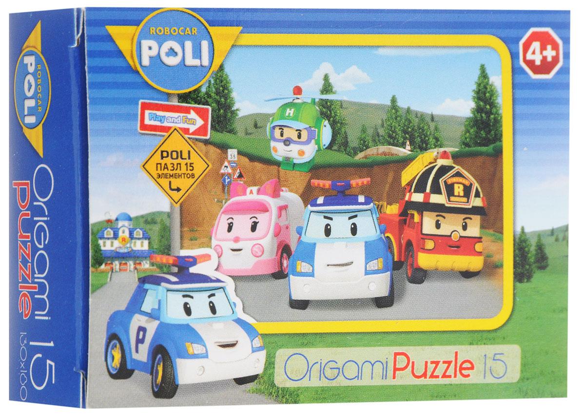 Оригами Мини-пазл Robocar Poli Вся команда 00176