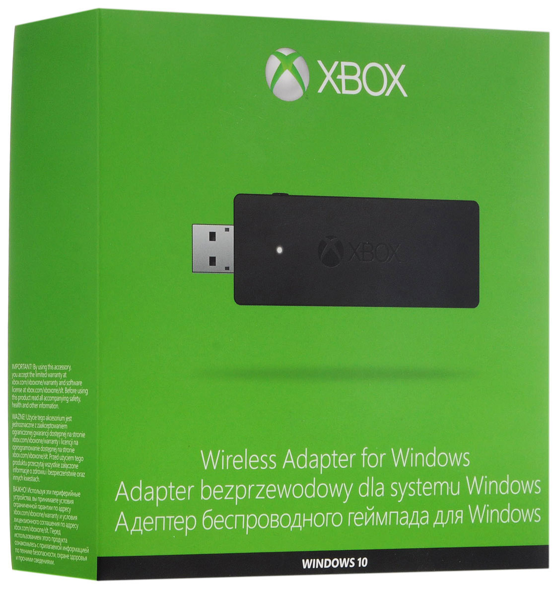 Xbox One ПК адаптер для беспроводного геймпада (HK9-00004) - Аксессуары
