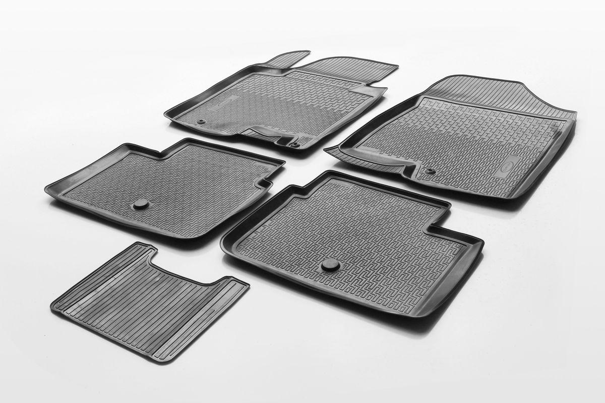 Коврики салона Rival для Hyundai i30 (HB, 3D, 5D, WAG) 2011-, c перемычкой, полиуретан12302001Прочные и долговечные коврики Rival в салон автомобиля, изготовлены из высококачественного и экологичного сырья, полностью повторяют геометрию салона вашего автомобиля.- Надежная система крепления, позволяющая закрепить коврик на штатные элементы фиксации, в результате чего отсутствует эффект скольжения по салону автомобиля.- Высокая стойкость поверхности к стиранию.- Специализированный рисунок и высокий борт, препятствующие распространению грязи и жидкости по поверхности коврика.- Перемычка задних ковриков в комплекте предотвращает загрязнение тоннеля карданного вала.- Произведены из первичных материалов, в результате чего отсутствует неприятный запах в салоне автомобиля.- Высокая эластичность, можно беспрепятственно эксплуатировать при температуре от -45 ?C до +45 ?C.Уважаемые клиенты!Обращаем ваше внимание,что коврики имеет формусоответствующую модели данного автомобиля. Фото служит для визуального восприятия товара.