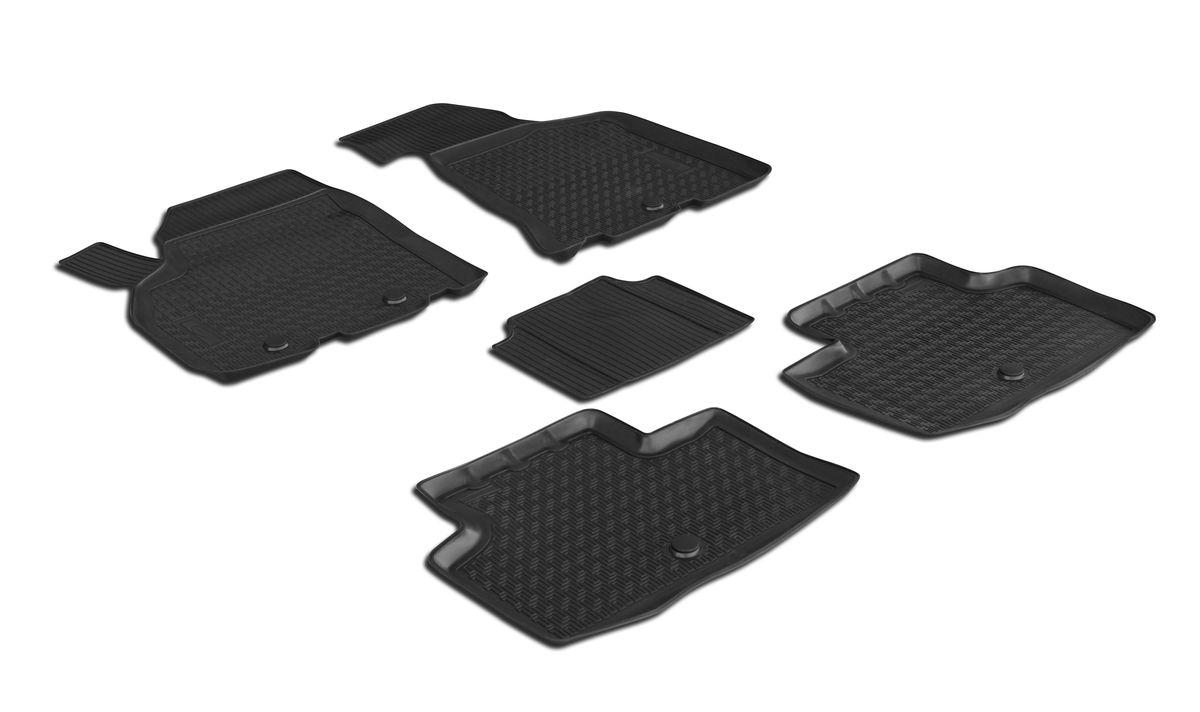 Коврики салона Rival для Lada Priora 2011-, c перемычкой, полиуретан16004001Прочные и долговечные коврики Rival в салон автомобиля, изготовлены из высококачественного и экологичного сырья, полностью повторяют геометрию салона вашего автомобиля.- Надежная система крепления, позволяющая закрепить коврик на штатные элементы фиксации, в результате чего отсутствует эффект скольжения по салону автомобиля.- Высокая стойкость поверхности к стиранию.- Специализированный рисунок и высокий борт, препятствующие распространению грязи и жидкости по поверхности коврика.- Перемычка задних ковриков в комплекте предотвращает загрязнение тоннеля карданного вала.- Произведены из первичных материалов, в результате чего отсутствует неприятный запах в салоне автомобиля.- Высокая эластичность, можно беспрепятственно эксплуатировать при температуре от -45 C до +45 C.Уважаемые клиенты!Обращаем ваше внимание,что коврики имеет формусоответствующую модели данного автомобиля. Фото служит для визуального восприятия товара.