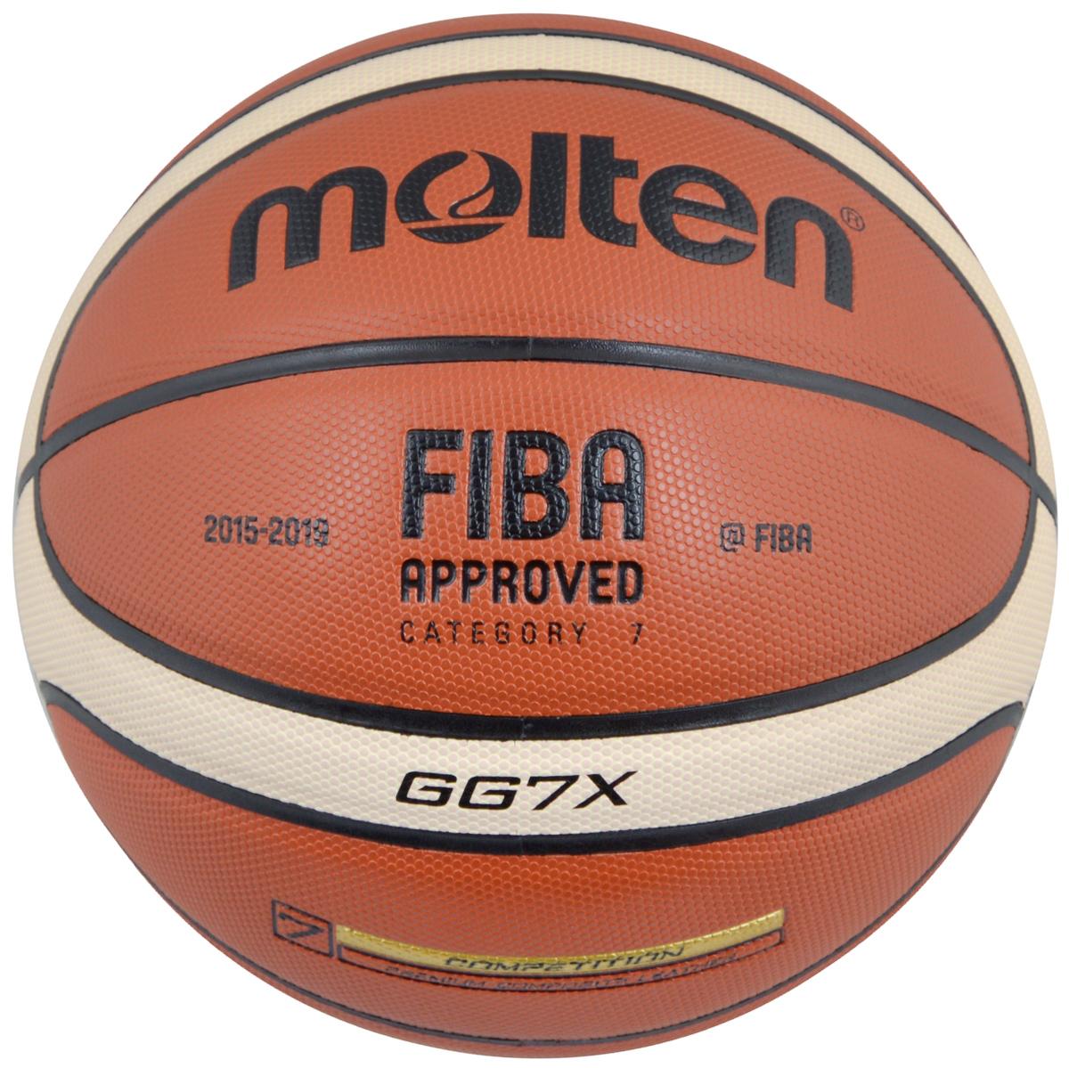 Мяч баскетбольный Molten, цвет: кирпичный, черный, бежевый. Размер 7. BGG7XBGG7XБаскетбольный мяч Molten отлично подходит для соревнований и тренировок профессионального уровня, обладает высокой прочностью, износостойкостью и игровыми характеристиками. Изготовлен из высококлассной композитной кожи. Шероховатая поверхность. 12-панельный дизайн. Предназначен для игры в зале. Одобрен FIBA. Окружность: 75 см.Материал камеры: бутил.
